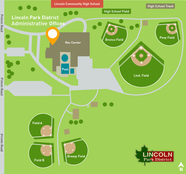 Lincoln Park District Map